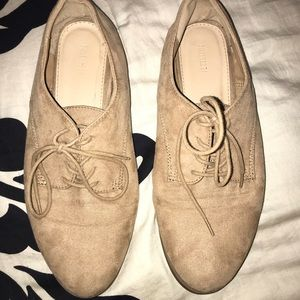 Forever 21 tan flats
